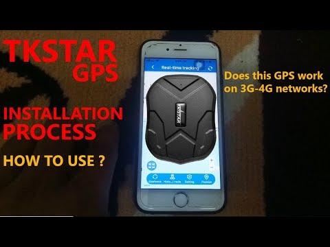 HOW TO INSTALL TKSTAR GPS TRACKER | HOW TO USE TKSTAR GPS TRACKER