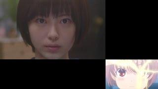 アニメ第1話の嶺上開花(リンシャンカイホウ)シーンを実写版の映像で再...
