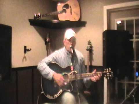 waylon jennings Luckenbach texas Acoustic Cover By Anthony Hoffman  Silverthrottleband