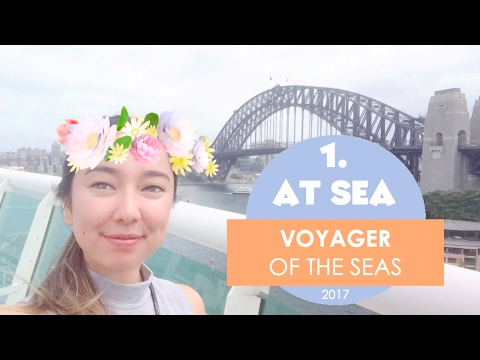 ROOM & DECK TOURS - VOYAGER OF THE SEAS Day 1-3