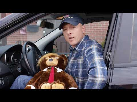 Cort Webber - Trumpy Bear is both terrifying and apparently also real.