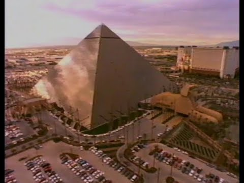 1993 - The Making Of Luxor Las Vegas Documentary