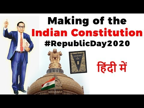 making-of-indian-constitution,-interesting-facts-about-constitution-of-india---indian-polity
