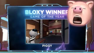 ROBLOX PIGGY WON THE BLOXY AWARDS!! | Thinknoodles Reacts