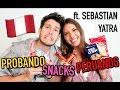 SEBASTIAN YATRA PRUEBA DULCES PERUANOS | Valeria Basurco