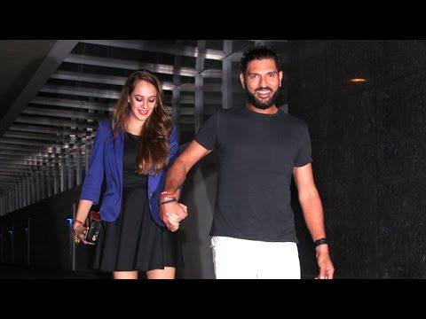 Yuvraj Singh's Pre Wedding Party With Wife To Be Hazel Keech
