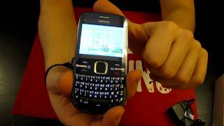 обзор Nokia C3 Features and menu