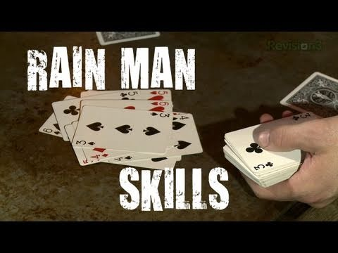 Look Like A GENIUS SAVANT With This Ridiculous Card Cheat! - Scam School