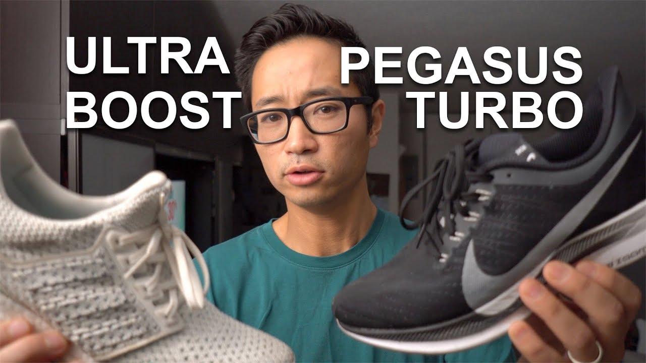 PEGASUS TURBO vs ULTRABOOST - YouTube