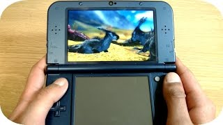 Monster Hunter 4 Ultimate New 3DS XL First Impressions Gameplay Review UK!
