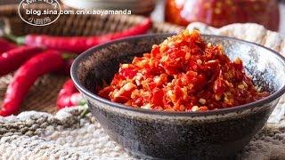 [Eng Sub]如何自制剁椒 Chopped Chili Pepper Sauce