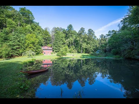 Creekside Cabin On 103 Acre Woodland SOLD!, Black Mountain NC