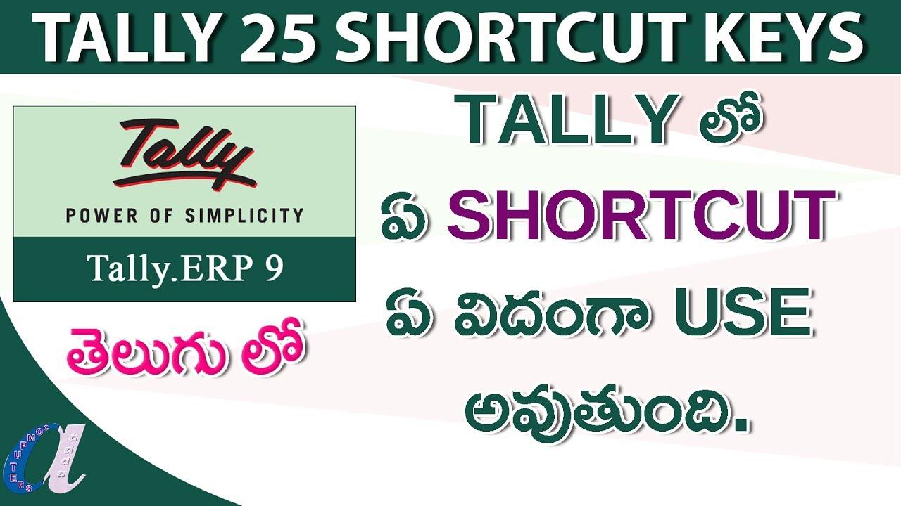 Tally Erp 9 Notes In Telugu Pdf