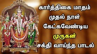 POWERFUL KARTHIGAI MASAM MURUGAN SONGS | Murugan Padalgal | Best Tamil Murugan Devotional Songs