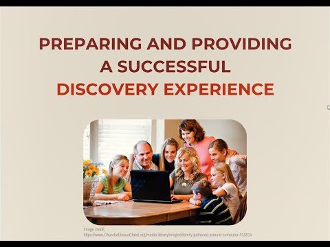 How to Prepare for a Successful Discovery Experience with Demo - Kathryn Grant