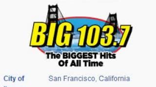 KOSF BIG 103.7 San Francisco, CA TOTH ID at 11:00 a.m. 7/13/2014
