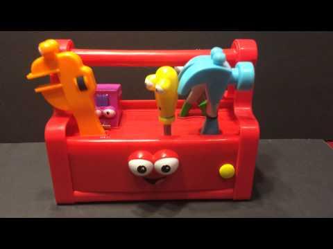 Ebay Handy Manny* Talking/Singing/Dancing* Tool Box*