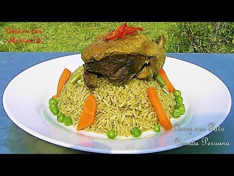 Arroz con pato recetas comida peruana youtube