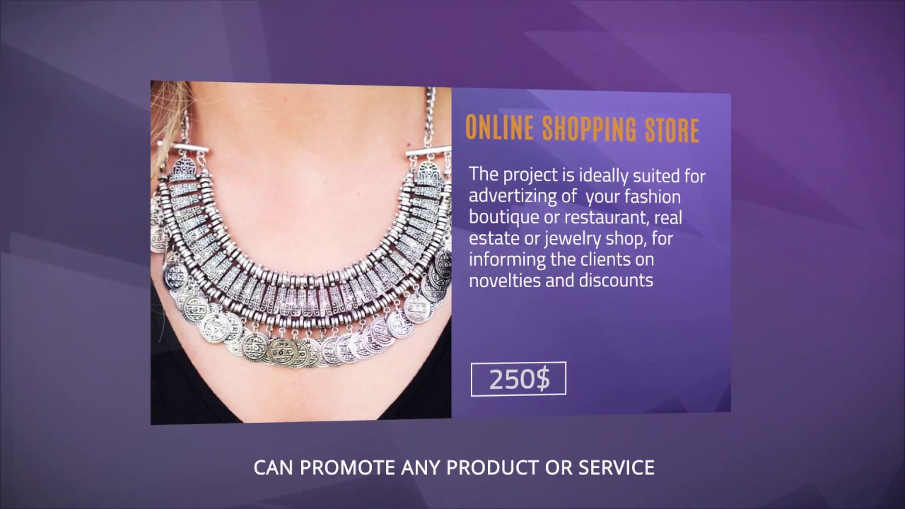 Online Store Gallery - promotional video template - YouTube