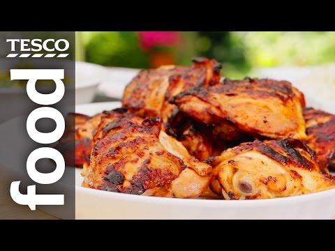 BBQ Chicken With Mango Salsa | Tesco Food