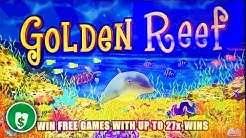 Golden Reef slot machine, bonus