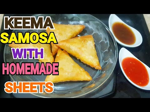 Delicious Chicken Samosa with Homemade Sheets by (YES I CAN COOK)