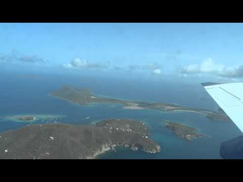 Abflug British Virgin Islands mit Cape Air (Cessna)