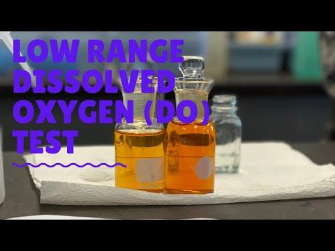 Dissolved Oxygen Test - Low Range