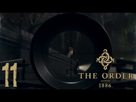 "The Order 1886 Walkthrough Gameplay Ep11 - ""Sniper CROSSBOWS!!!"" 1080p PS4 Exclusive"