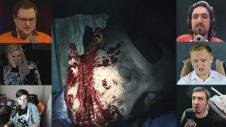 """""""Реакции Летсплейщиков"""" на Изуродованного Трупа из Resident Evil 2 Remake"""