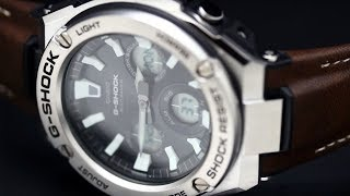 Обзор кварцевых часов Casio G-Shock GST-W130L-1A