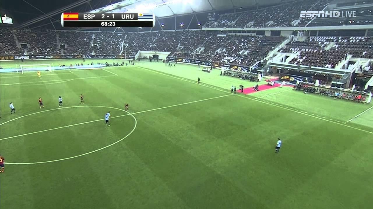[國際足球友誼賽]20130207 西班牙 對 烏拉圭 下半場 Spain v. Uruguay 2nd Half - YouTube