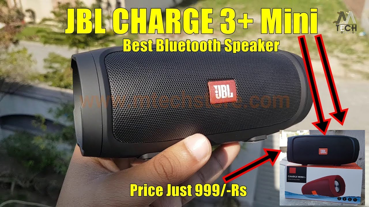 Jbl Mini Charge 3 Bluetooth Speaker Just 999 Rs Review By M Tech
