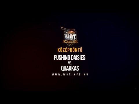 I. MORPHELO BAJNOKSÁG - Középdöntő Pushing Daisies vs. Quakkas