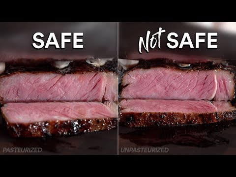 Do SAFE Steaks Taste Different than UNSAFE? | Sous Vide Everything