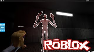 WHITE LONG MONSTER - Roblox Horror Map (+13) / SCP-096
