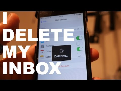 #NOemail:  I deleted my mail apps!  [Vlog 2/7]