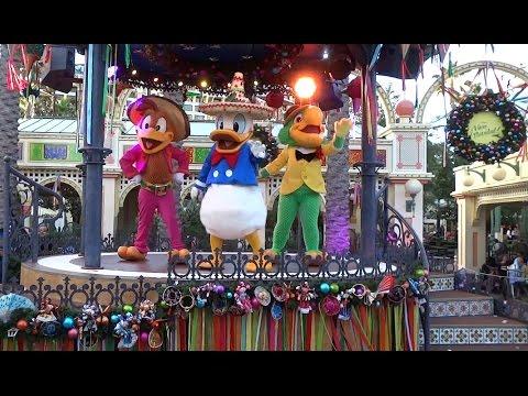Viva Navidad street party 2015 at Disney California Adventure
