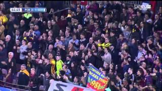 Barcelona - Sevilla Highlights HD 22.11.2014