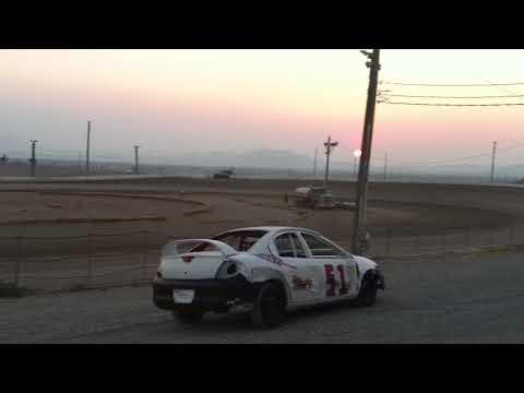 Pahrump Valley Speedway Micro sprint Heat 8/7/18