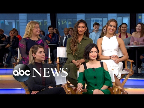 The stars of 'Pretty Little Liars' open up about the final season