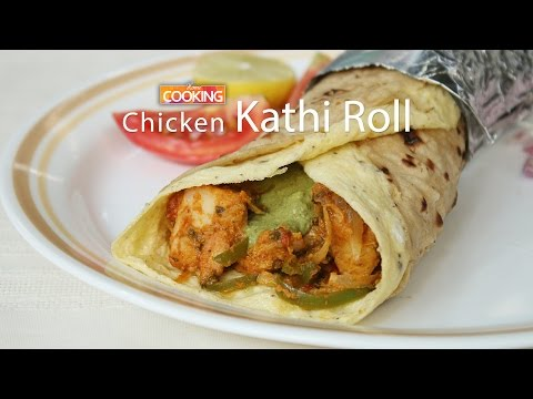 Chicken Kathi Roll    Ventuno Home Cooking