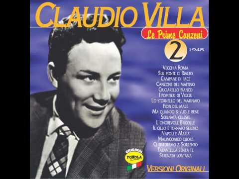 Claudio Villa     -     Canzone Del Mattino