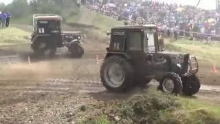 XIV гонки на тракторах «Бизон-Трек-Шоу 2016» (ОБЗОР) Самые интересные моменты