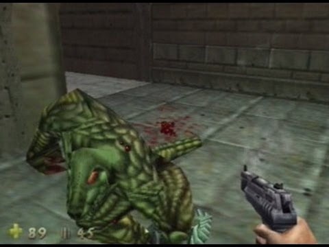 Turok 2 : Seeds of Evil - 100% Walkthrough Guide, 'HARD DIFFICULTY NO AUTO-AIM', Level 1 Part 1