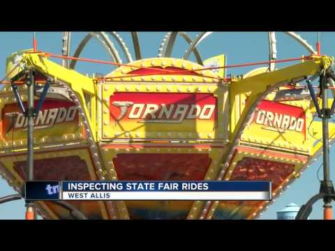 Ride safety a probity at Wisconsin State Fair after Ohio disaster