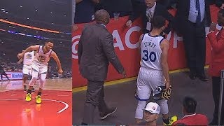 Stephen Curry Hurts His Ankle & Leaves Game With Injury! Warriors vs Clippers Game 6