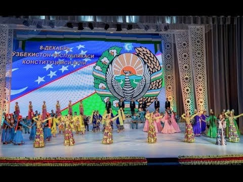 The 25th anniversary of the adoption of the Constitution of Uzbekistan