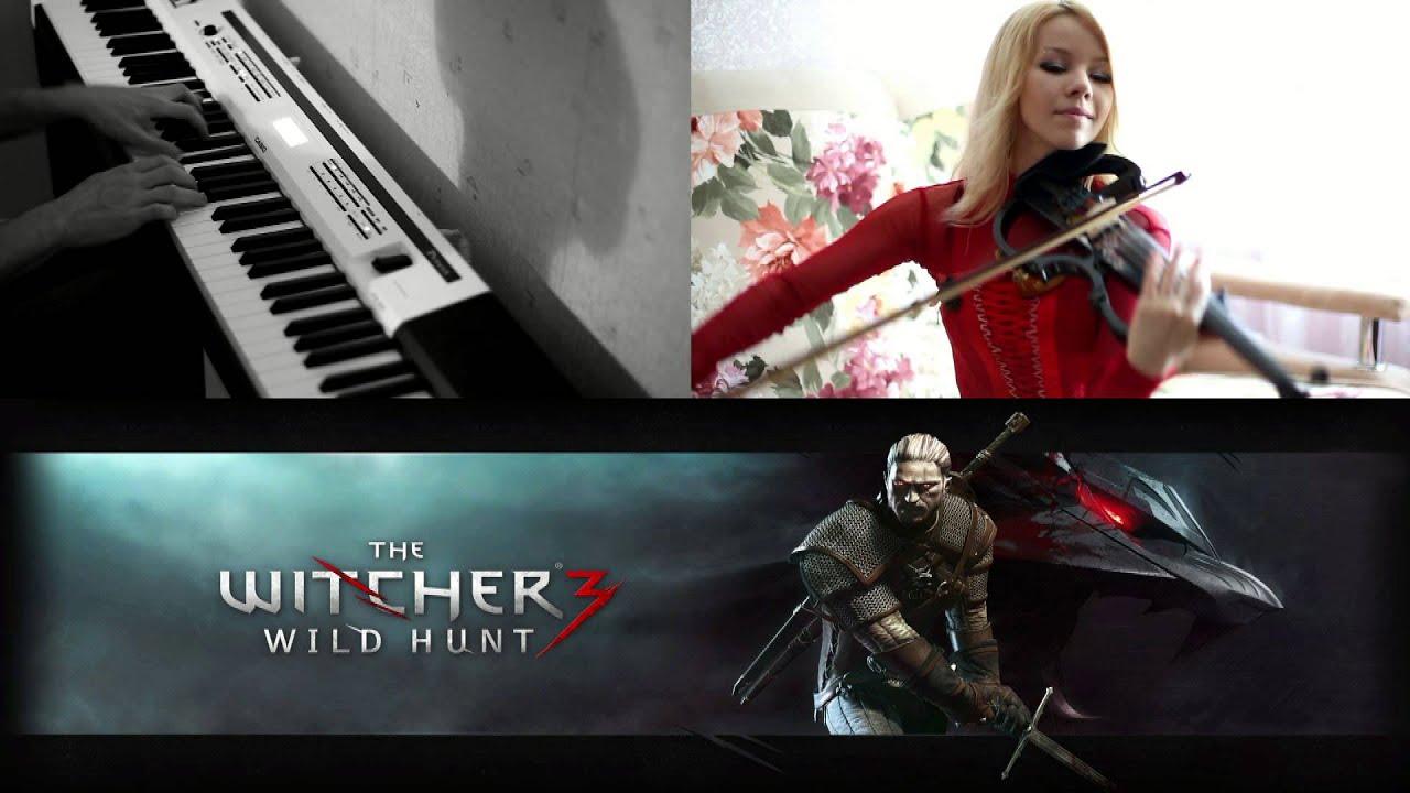 Witcher 3 - Piano & Violin Cover (Main Menu Theme) | Doovi