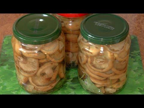 Засолка груздей горячим способом / Preservation of hot mushrooms